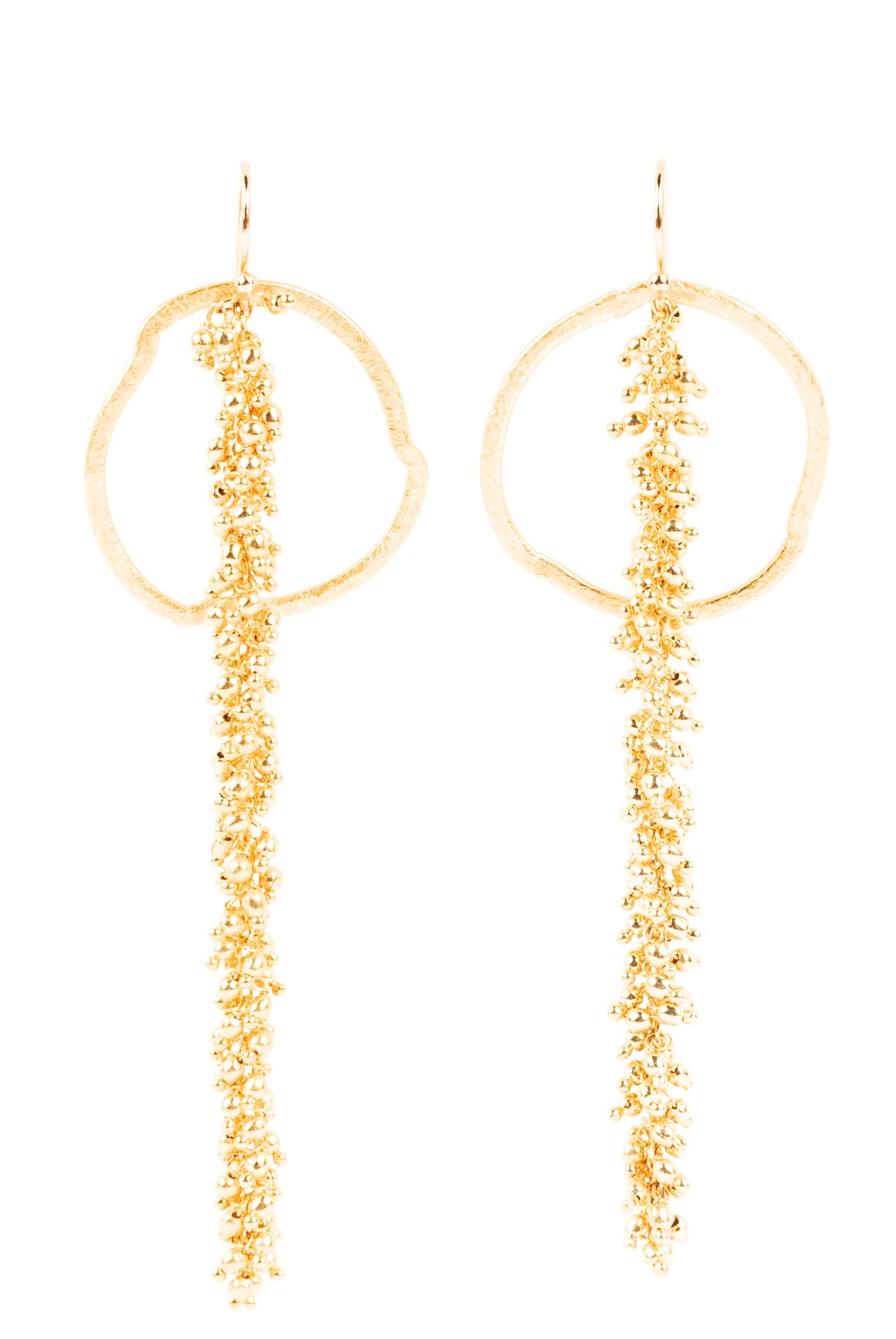 Tal gold drop earrings