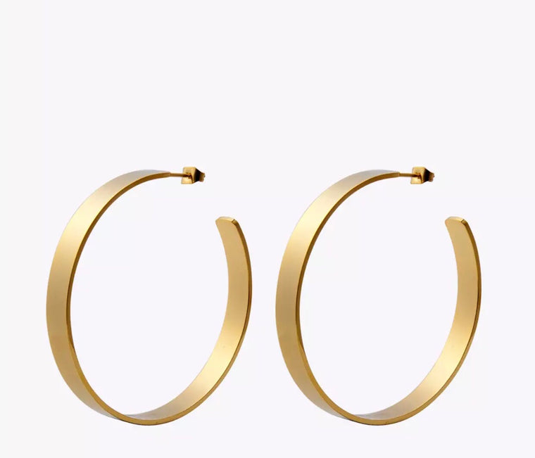 Gwen  Hoop Earrings