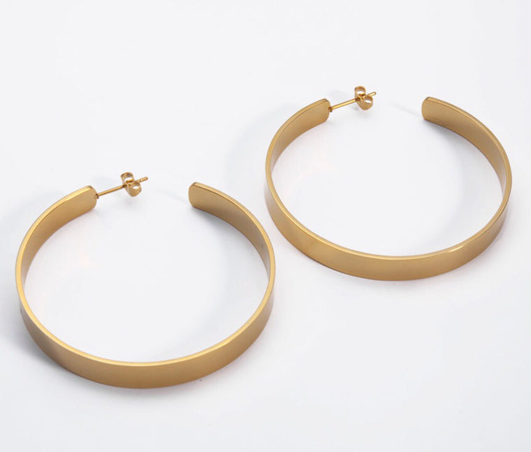 Gwen  Hoop Earrings - rockyourvnd
