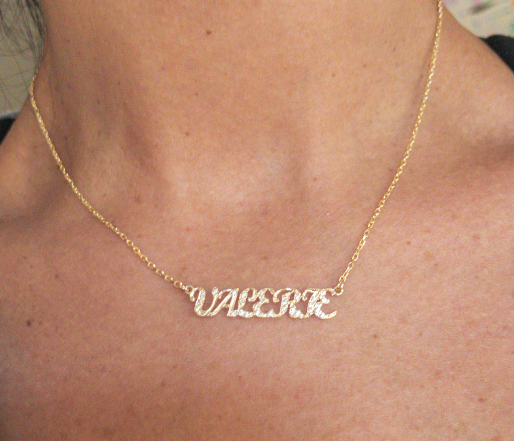 Custom name Necklace - rockyourvnd