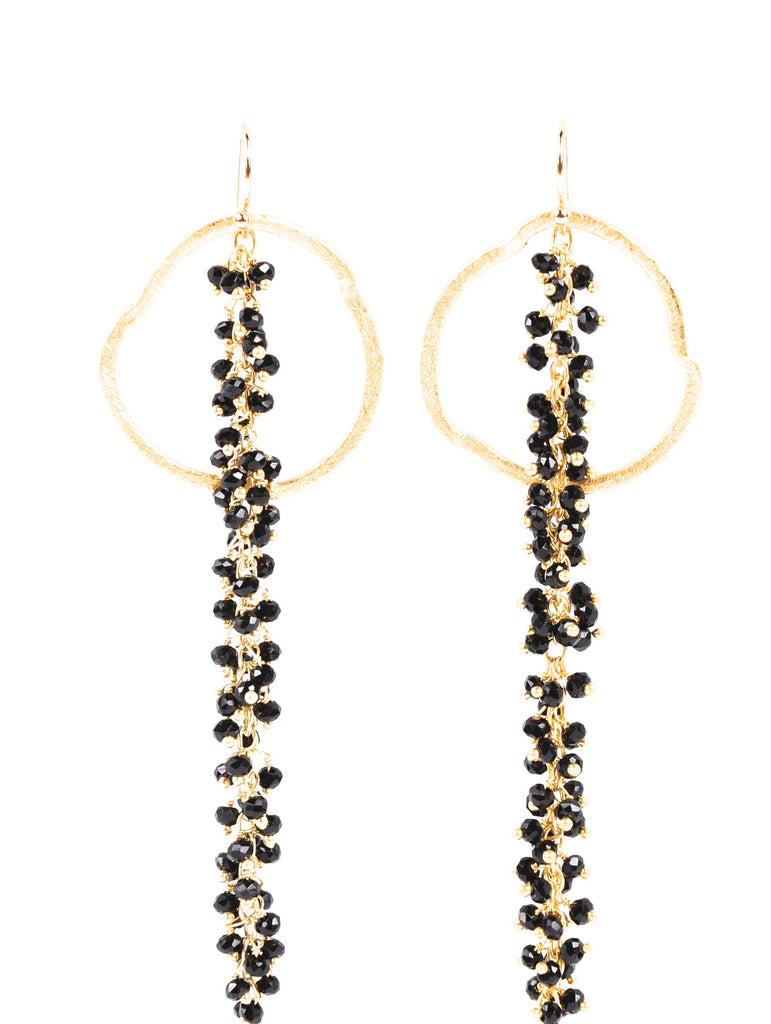 Gold drop earrings - rockyourvnd