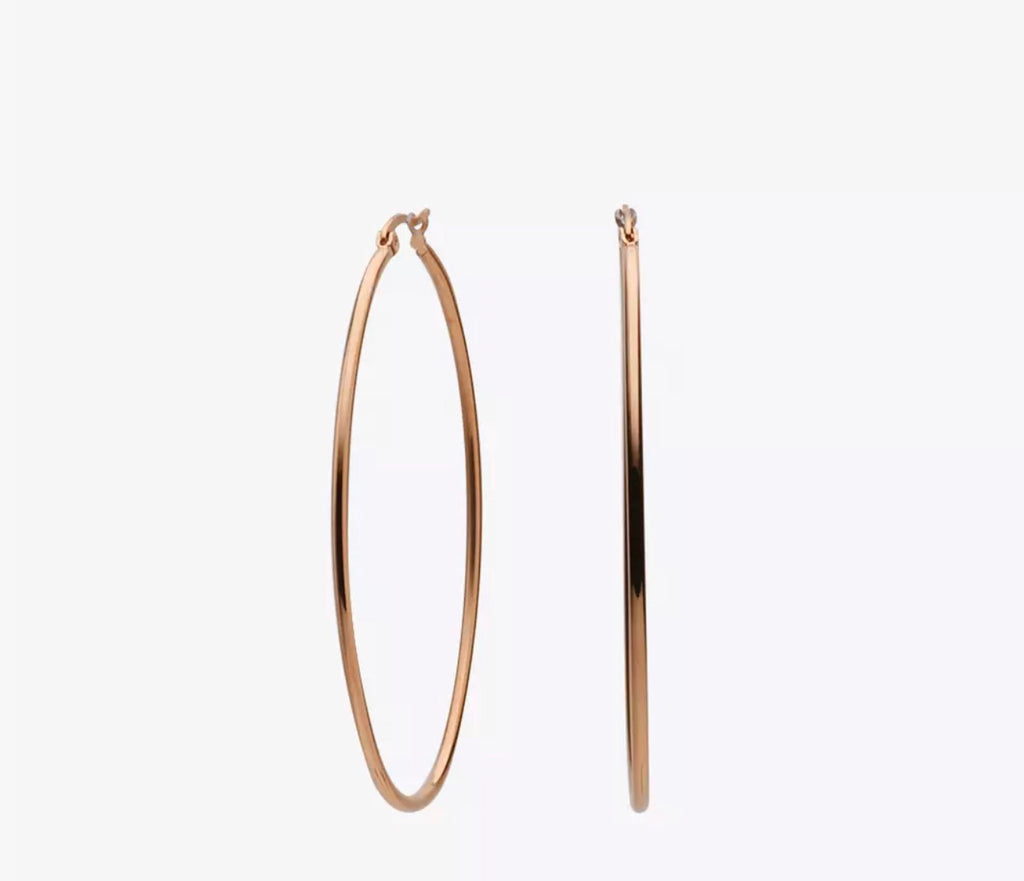 Slim Oval Hoops - rockyourvnd