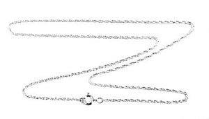 Sterling Silver Rope Chain 1.4 mm. 16""