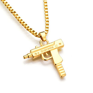 Gold Supreme Gun Chains