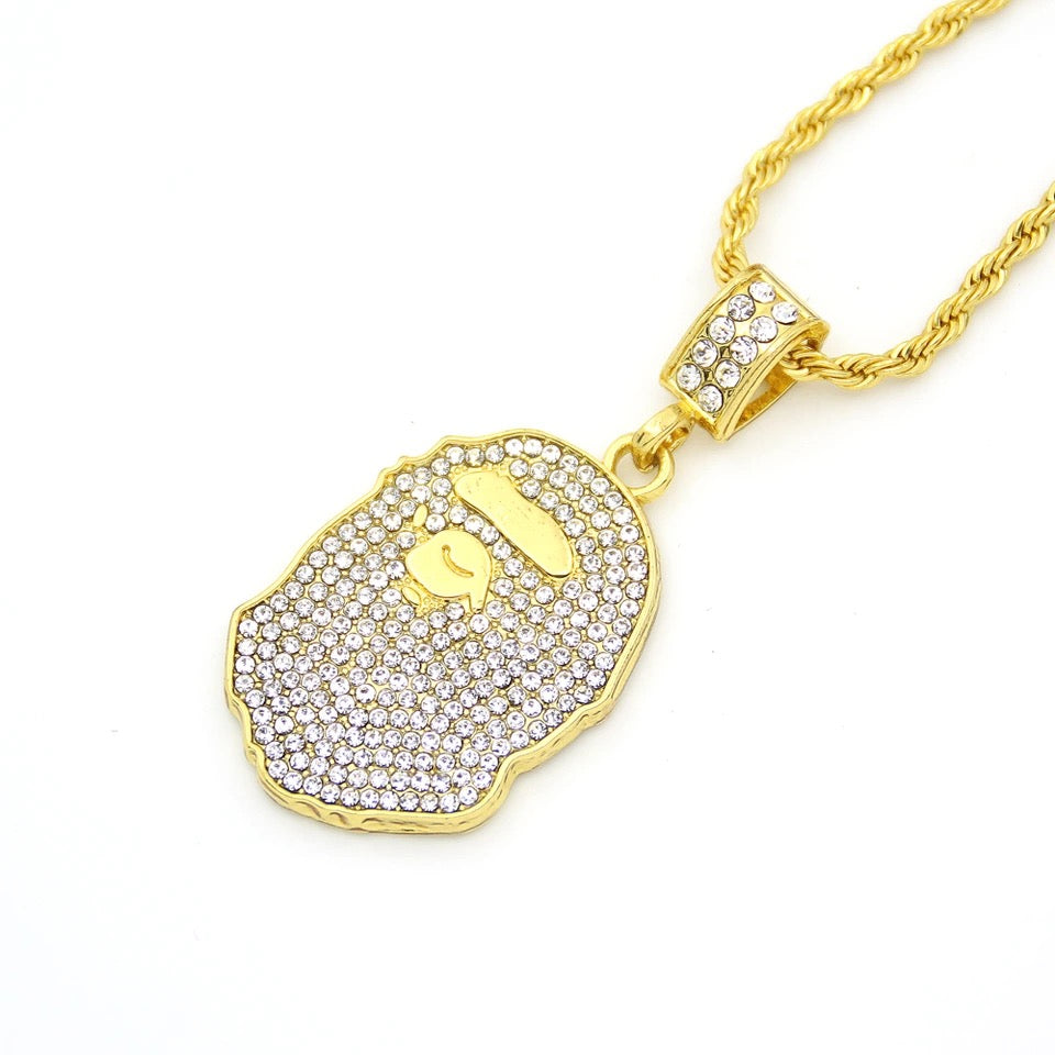 gold bape chain