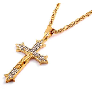 Iced Cross Chain - Dux LA