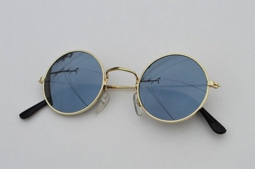 Gold and Black Lennon Sunglasses