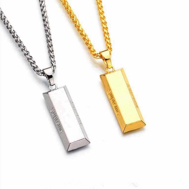 Gold and Silver Supreme Brand Chains for Cheap