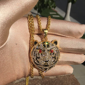 Gucci Tiger Head Chain - Dux LA