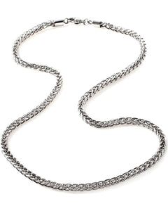Sterling Silver Wheat Chain 4 mm. 20""
