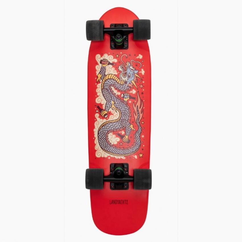 dinghy dragon red complete 28.5""