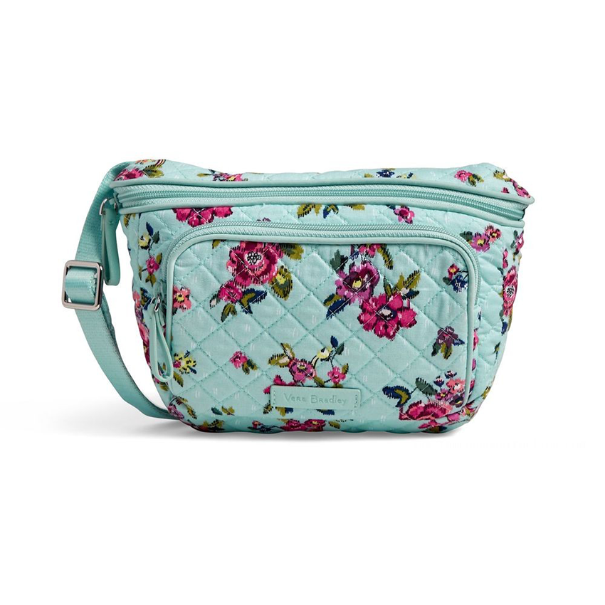 Iconic RFID Belt Bag Water Bouquet