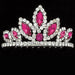 Rhinestone With Color Tiara