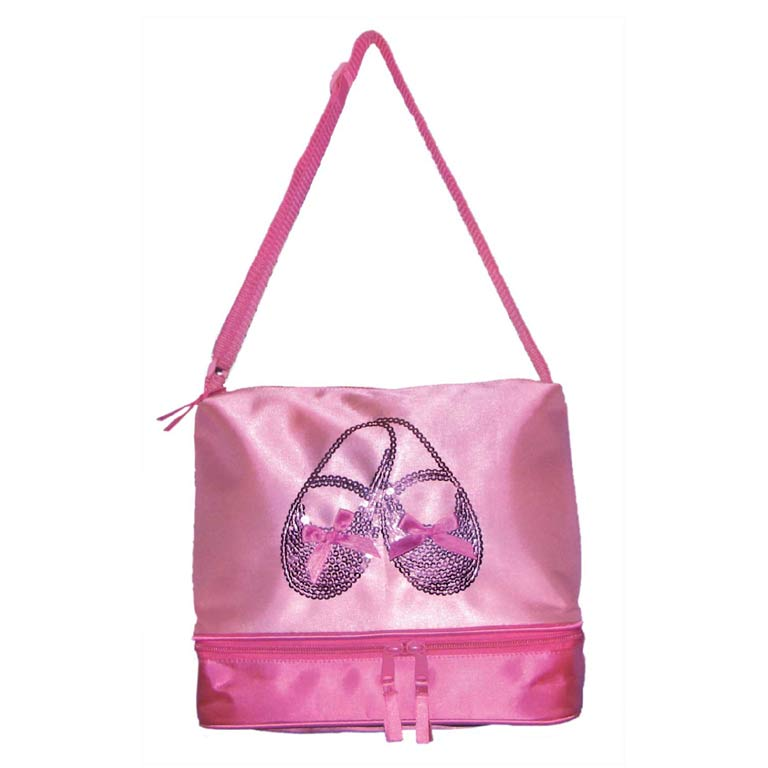 Bolso Satin & Sequins Bal - Pink