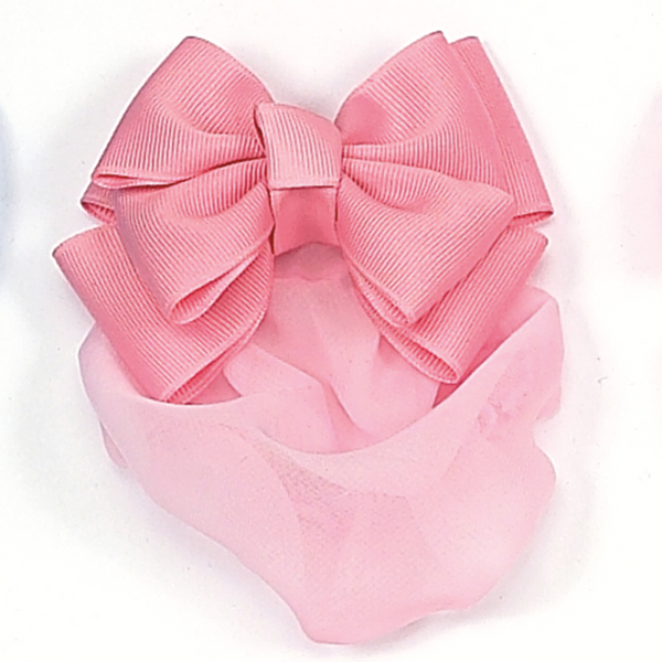 Ruffle Bow Snood