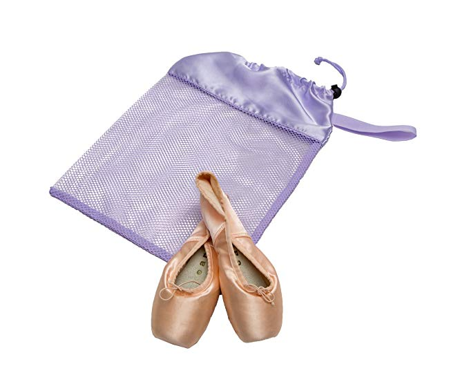 Mesh Shoe Bag - Lavender