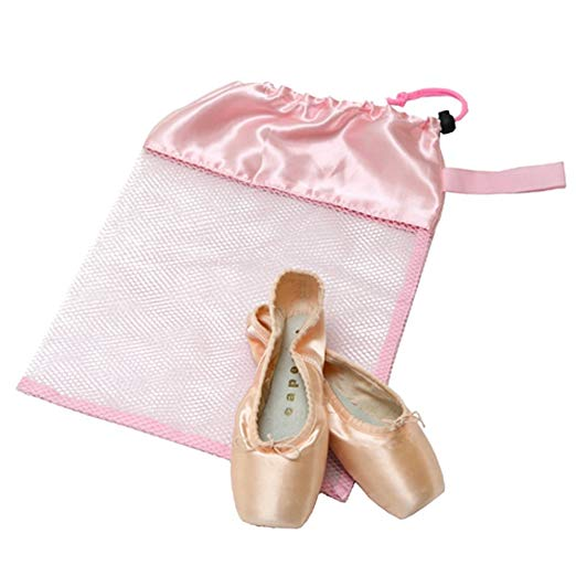 Bag Shoe Mesh   - light pink
