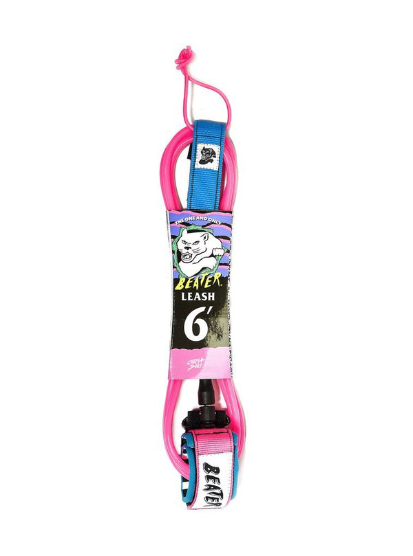 Beater 6Ft Leash Pink/Blue