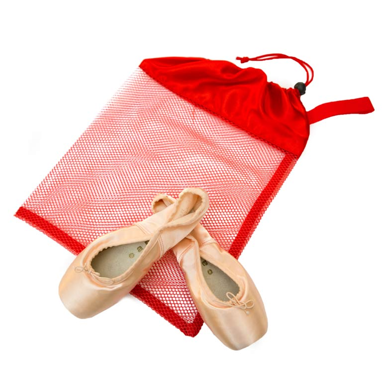 Bag Shoe Mesh - Red