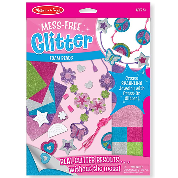 Mess-Free Glitter Foam Be