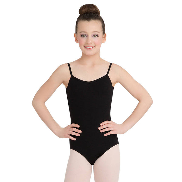 V-Neck Camisole Leotard - Niña