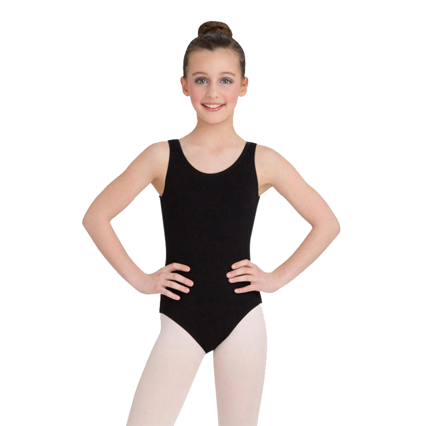 High-Neck Tank Leotard - Niña