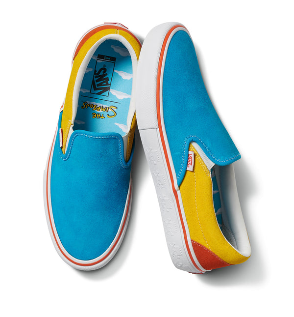 Slip-On Pro The Simpsons Blue/yellow