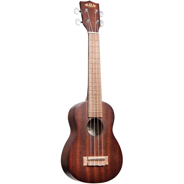 Kala Mahogany Long Neck Soprano Ukulele No Binding