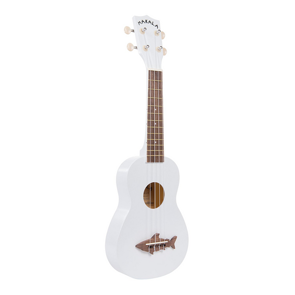 Makala Shark Soprano Ukulele Great White