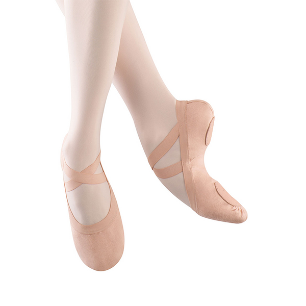 Pro-Elastic Canvas Ballet Shoes - Niña