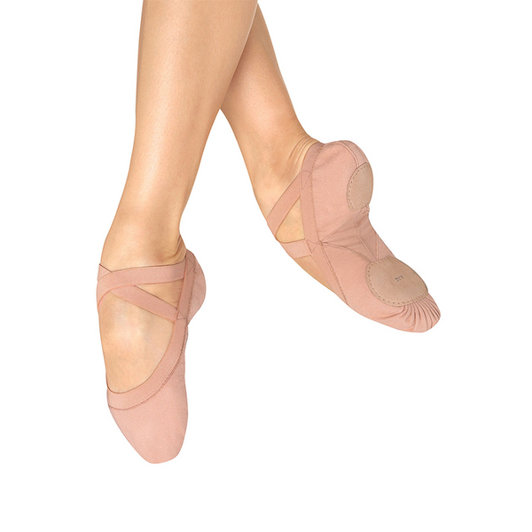 Pro-Elastic Canvas Ballet Shoes - Adulto