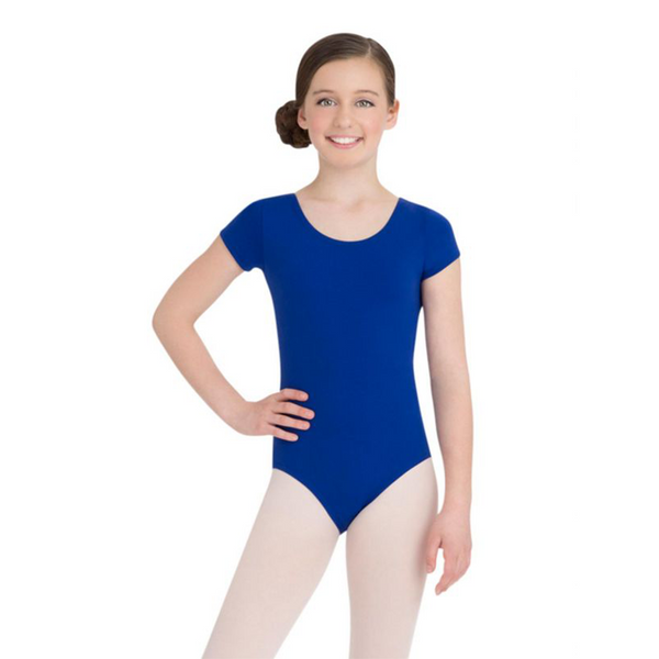 Short Sleeve Leotard - Niña