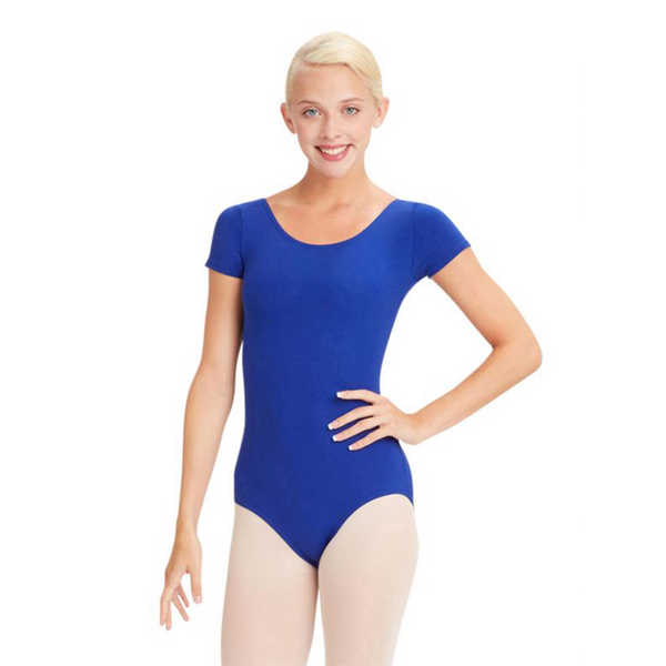 Short Sleeve Leotard - Adulto