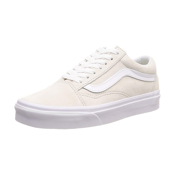 Old Skool Pig Suede Moonbeam/True White