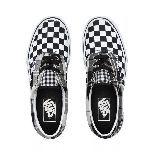 Era Platform (Plaid Checkerboard) Black/True White