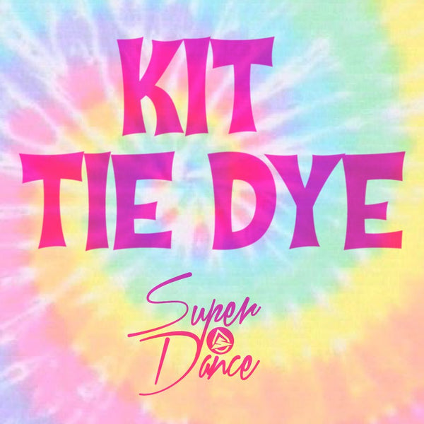 Kit Tie Dye con Leotardo