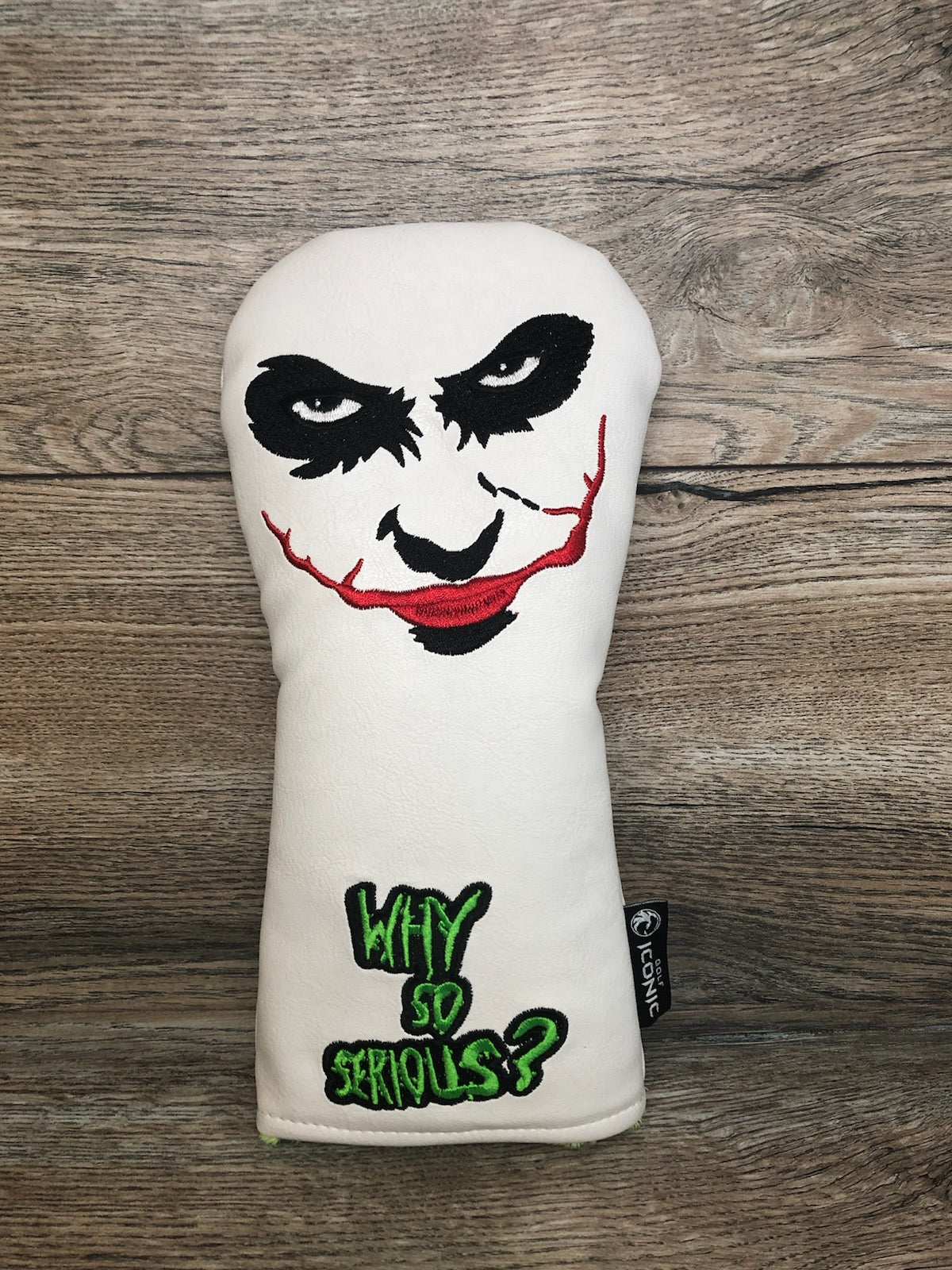 Golf Iconic Why So Serious Headcover