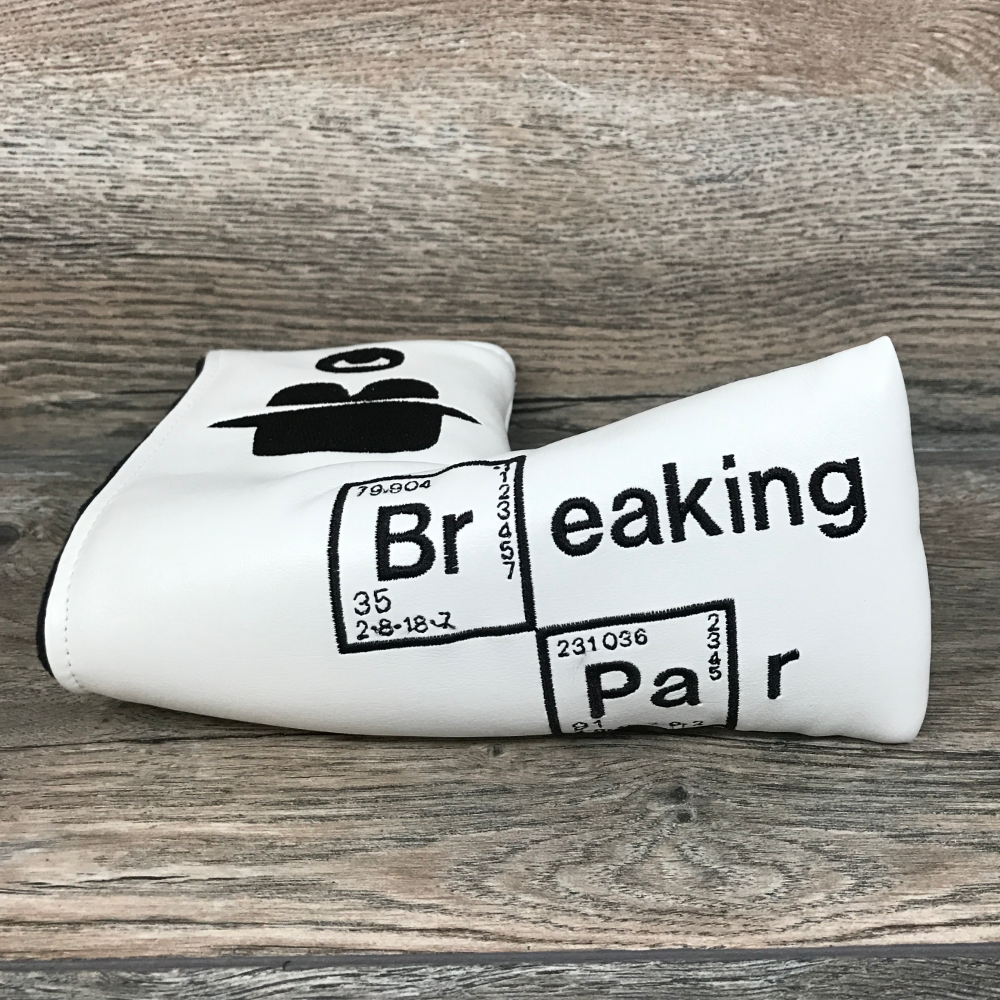 Golf Iconic Breaking Par Blade Headcover