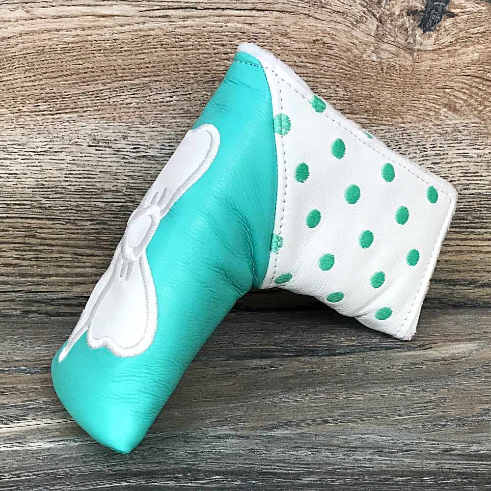 Golf Iconic Bow and Dots Tiffany Blade Headcover