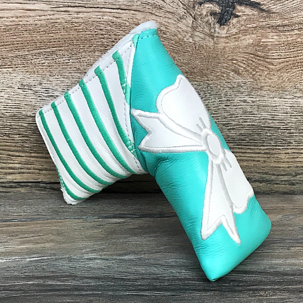 Golf Iconic Bow and Stripes Tiffany Blade Headcover