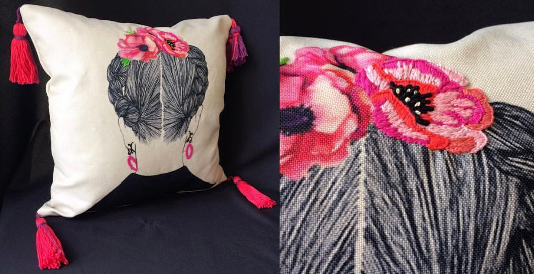 Frida's cushion/pillow case