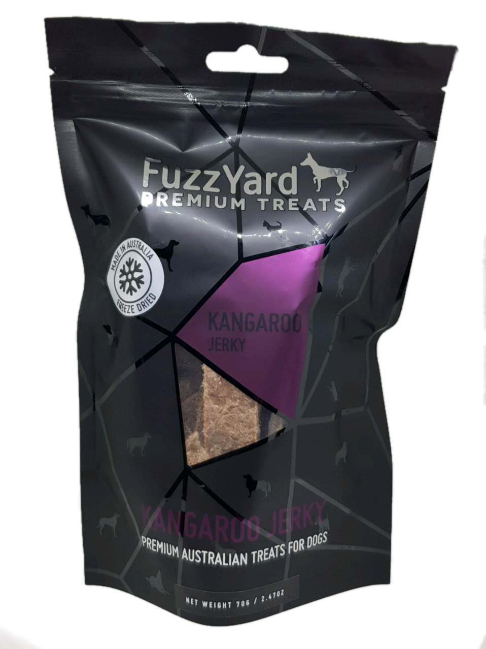 FuzzYard Premium Treats - Kangaroo Jerky (for Dogs)