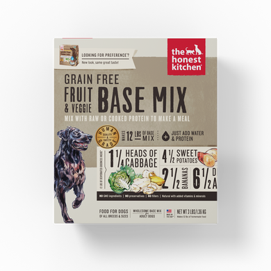 Grain-Free Fruit & Veggie Base Mix (Preference)