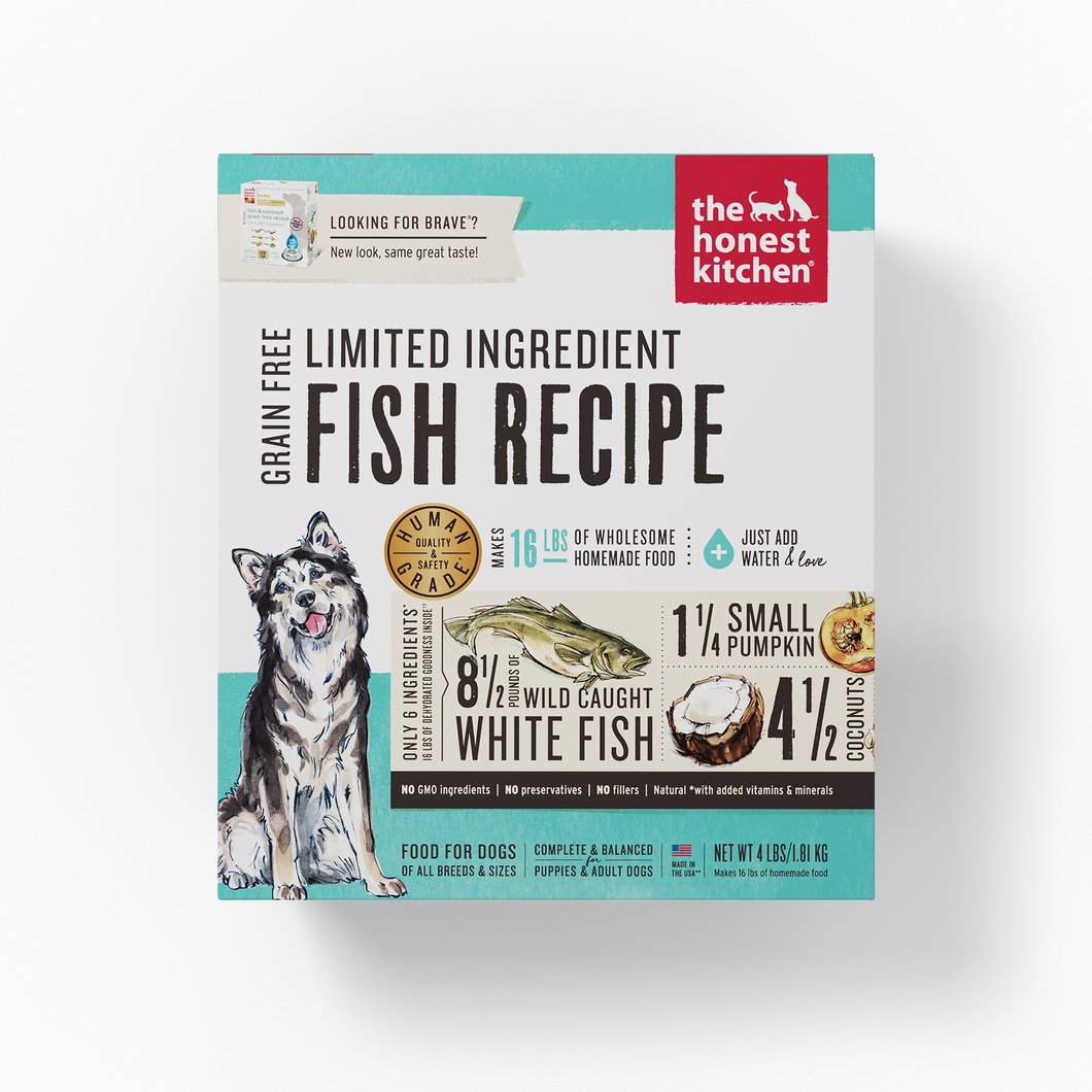 Limited Ingredient Fish & Coconut Recipe (Brave)