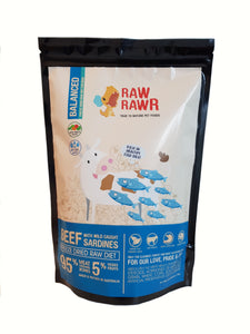 Raw Rawr Freeze Dried Beef & Sardines