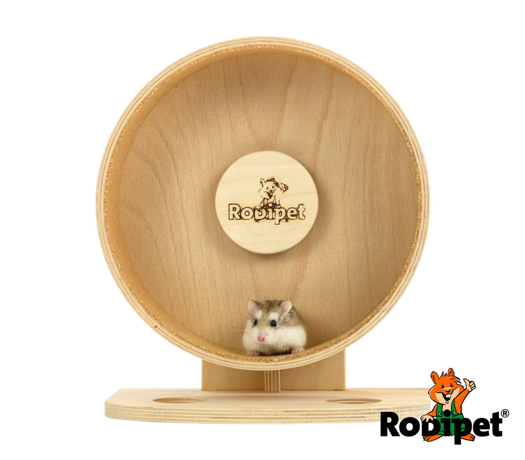 Rodipet® 21cm Super Silent Cork Exercise Wheel