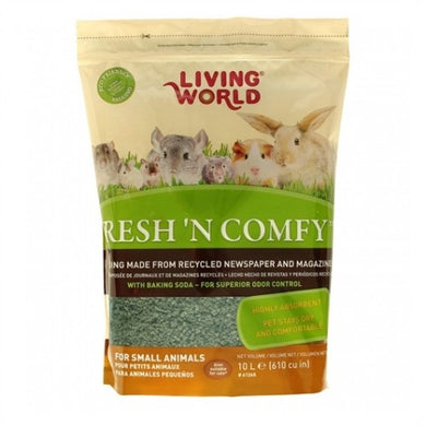 Living World - 10L Fresh N Comfy Bedding (Green)