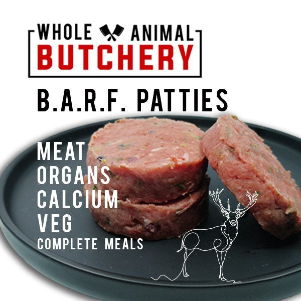 Frozen Venison Patties - Barf