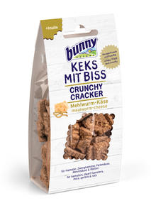 Bunny Nature Crunchy Crackers - Mealworm & Cheese