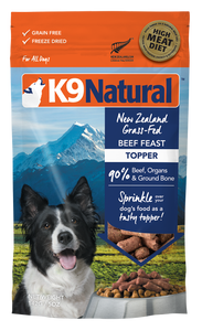 K9 Natural Freeze Dried - Beef Toppers